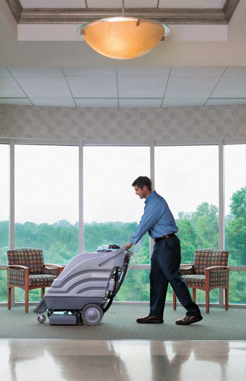 Lincoln Nebraska commercial office carpet cleaning by ServiceMaster