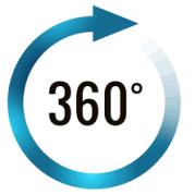 360 degree graphic