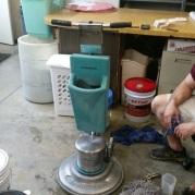 Clean roto equipment